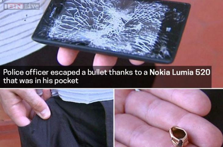 military police officer in Brazil survived bullet