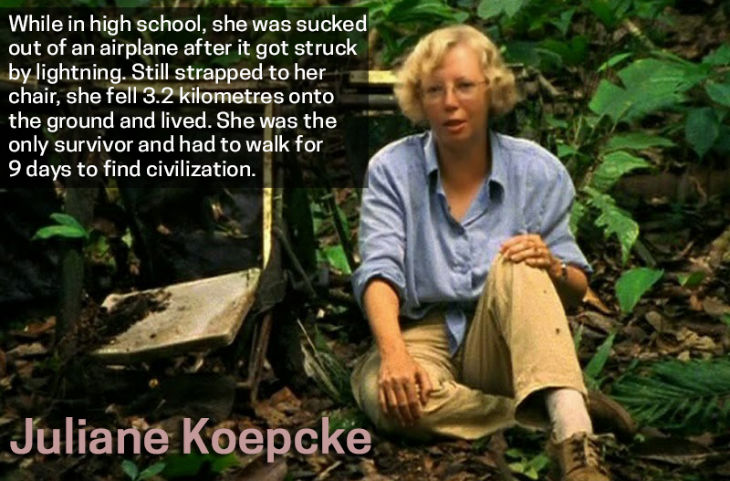 Survivor Juliane Koepcke