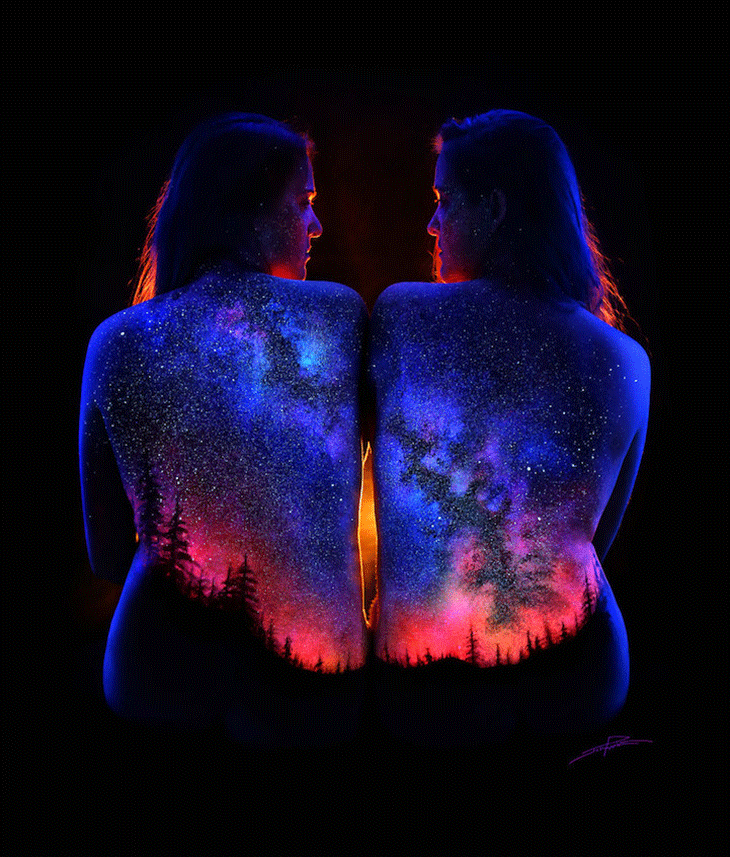 Back light art by John Poppleton