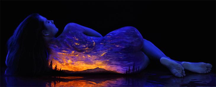 Back light art by John Poppleton