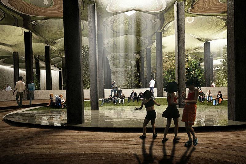 world's first underground park