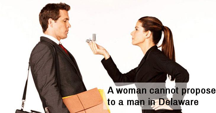 women proposing to men