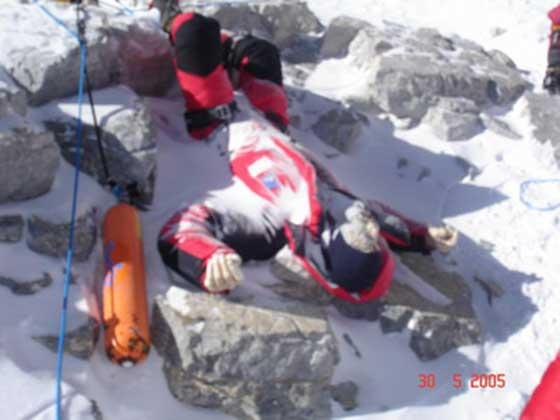 Other lost soul left behind on Mount Everest.