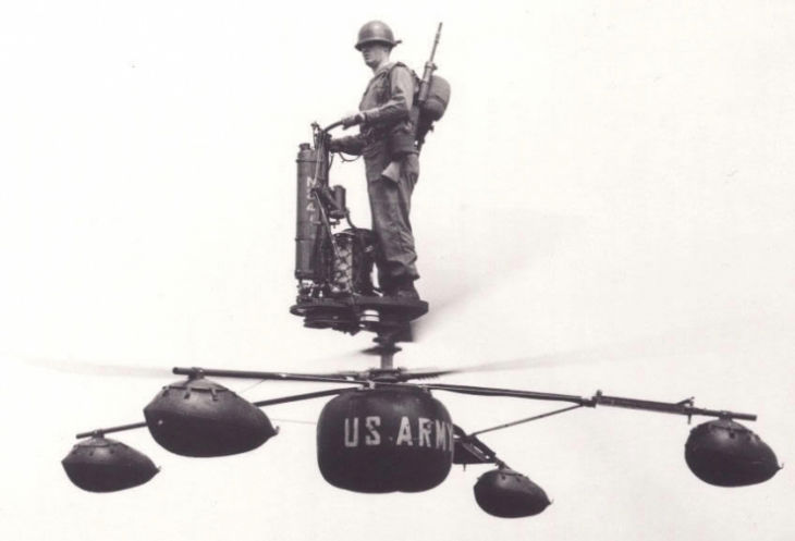 The HZ-1 Aerocycle