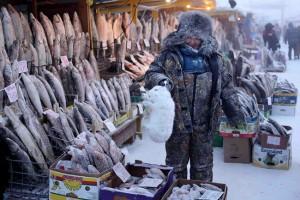 Central Market In Yakutsk