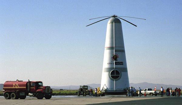 The Rotary Rocket