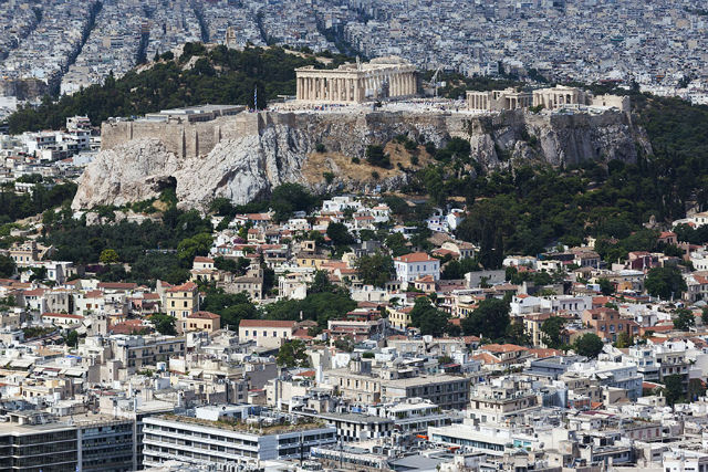 The Acropolis Aerial View