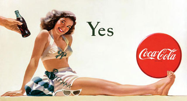 Coke ad yes