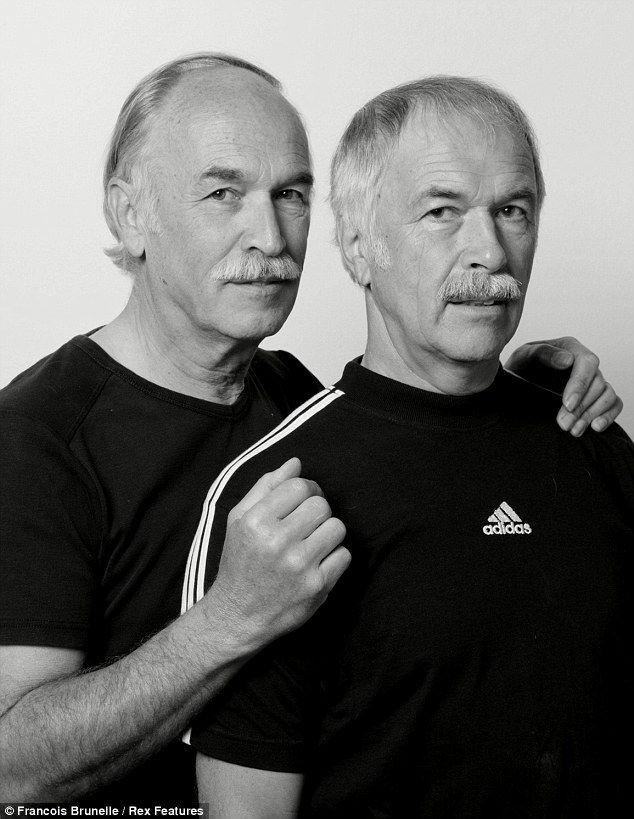 Maurus Oehman and Rudi Kistler