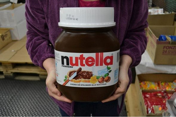 13 less known facts about nutella. Black Bedroom Furniture Sets. Home Design Ideas