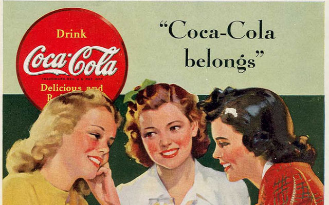 coca- cola marketed for white people