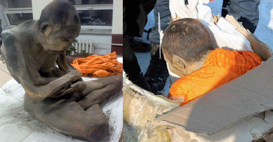 200-Year-Old Mummified Mongolian Monk