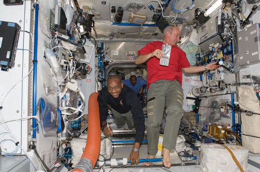 Astronauts typically gain two inches in height while in space.