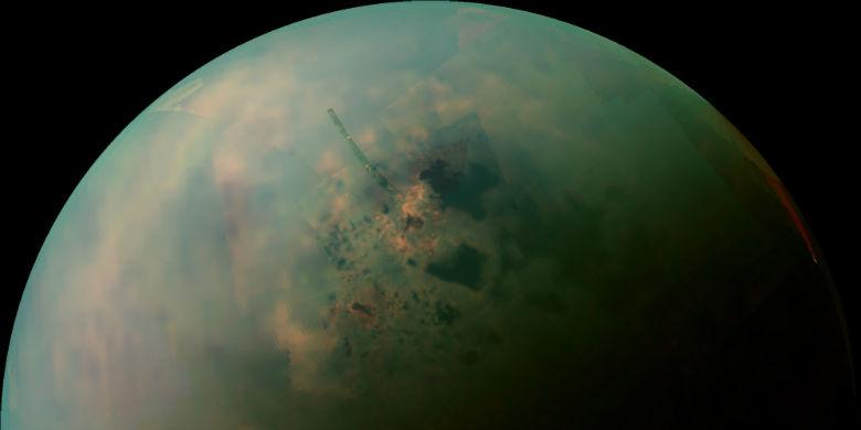 Saturn's Moon Tita