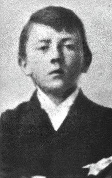 Hitler childhood photo