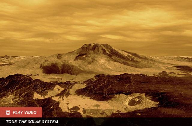 It snow metal on Venus