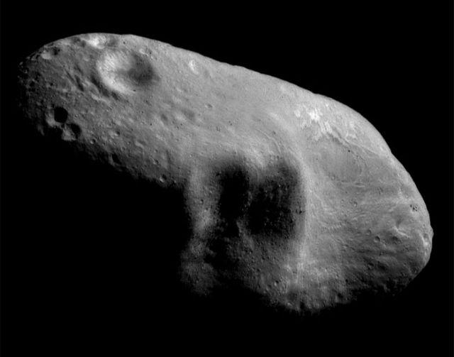Eros. Asteroid