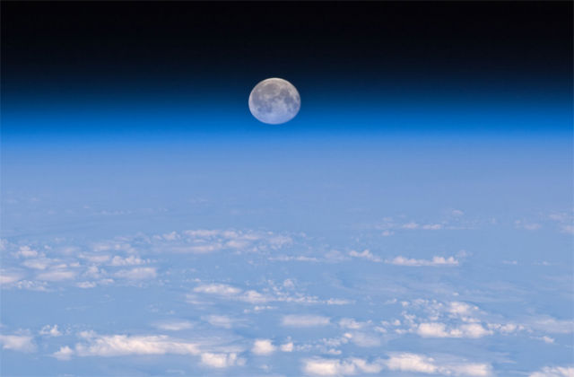 Moon is moving away from Earth