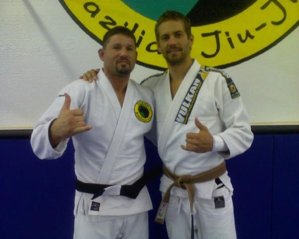Paul had a brown belt in Brazilian jiu-jitsu