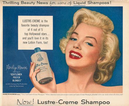 1953 Marilyn Monroe Ad