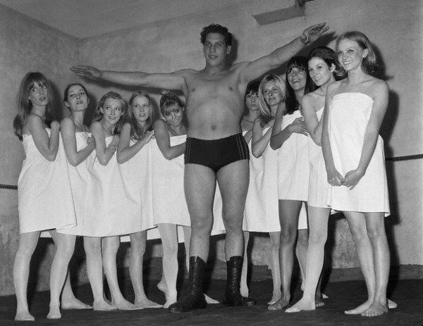 19 years old andre the giant
