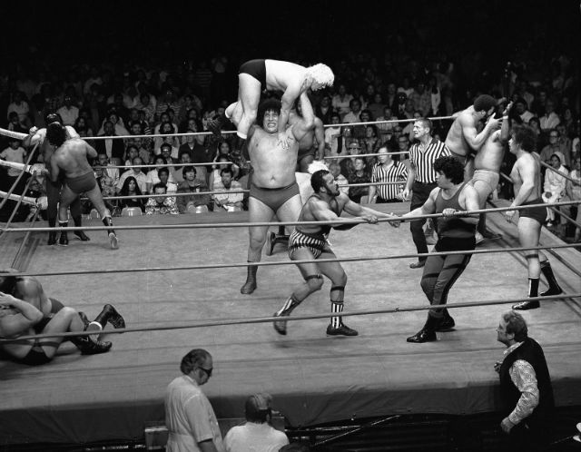 Andre the Giant, Olympic Auditorium Battle Royal, 1976