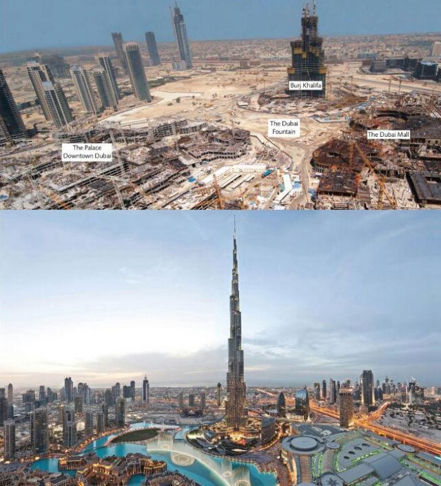 Dubai 2006 vs Today