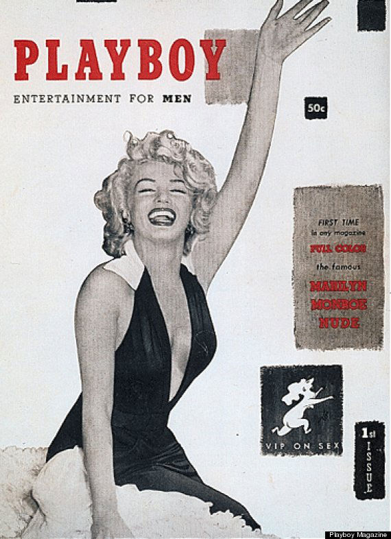 First Issue Of Playboy Marilyn