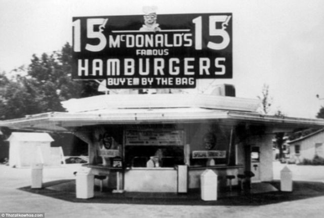 First McDonald's in San Bernardino, California