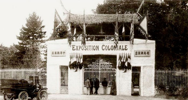 French colonial Exposition