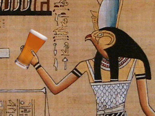 Pyramid workers were paid in beer