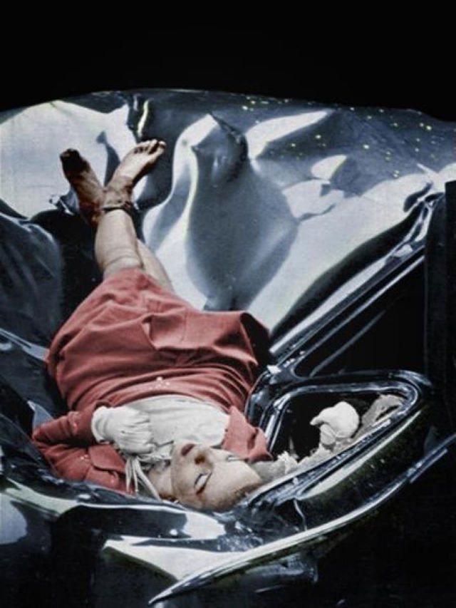 The body of Evelyn McHale