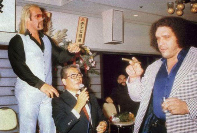 Andre the giant at japan