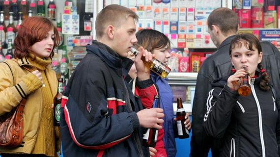 Beer in russia used to considered in soft drinks