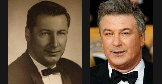 15 Celebrities and their Historical Doppelgangers!