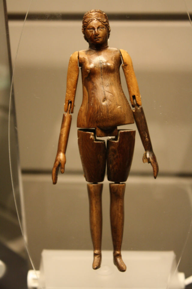 Ancient roman ivory doll