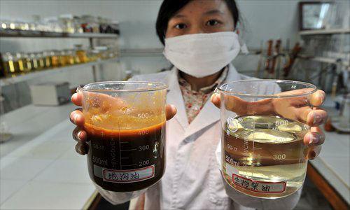 Gutter oil