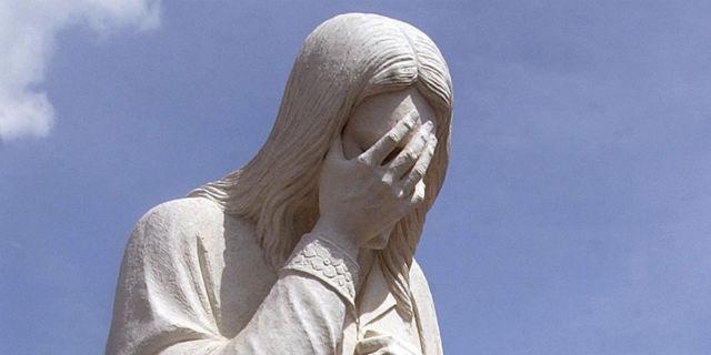 Jesus face plam