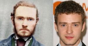 Celebrities doppelgangers