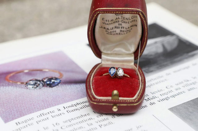 Napoleon's Engagement Ring