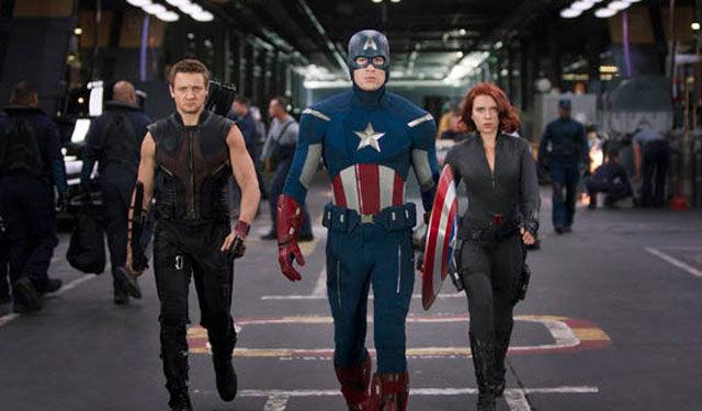 Captain america avengers 2012