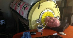Paul Alexander , This man uses iron lung to breathe