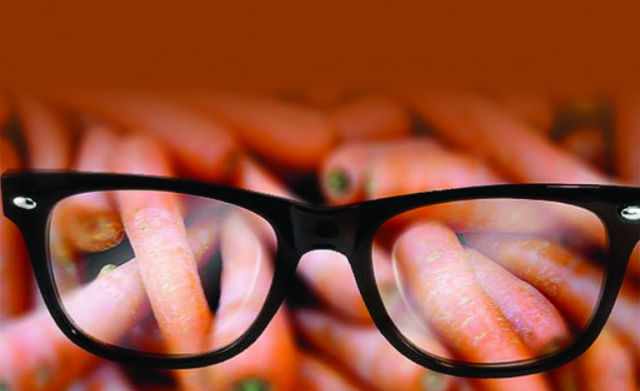 Carrot eyesight myth