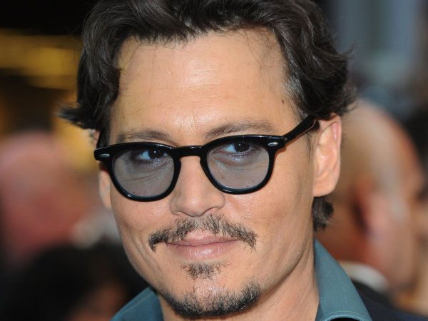Johnny Depp is nearly blind