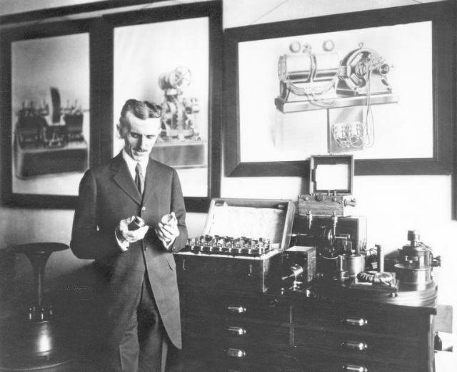 Nikola Tesla invented radio