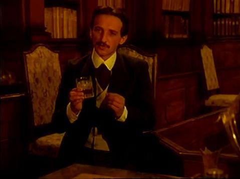 Nikola drank whiskey