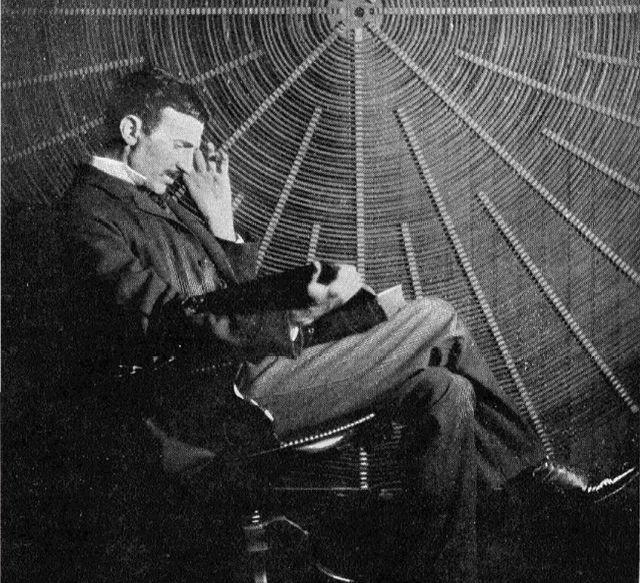 Nikola Tesla 3d Vision