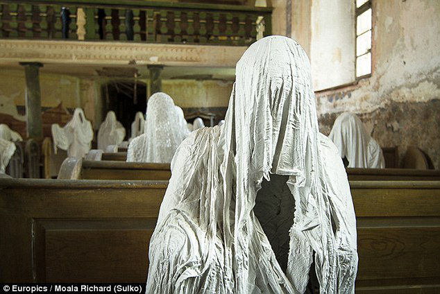 ghost church at Czech Republic