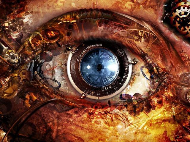 human eye 576 mega pixel