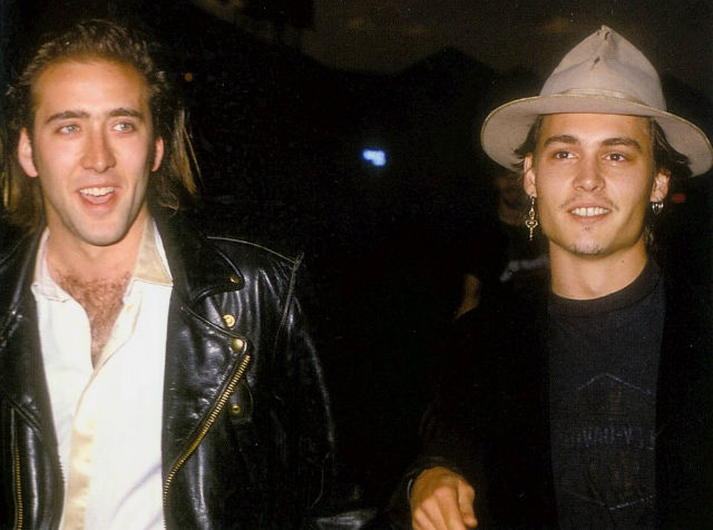 johnny depp and nicolas cage